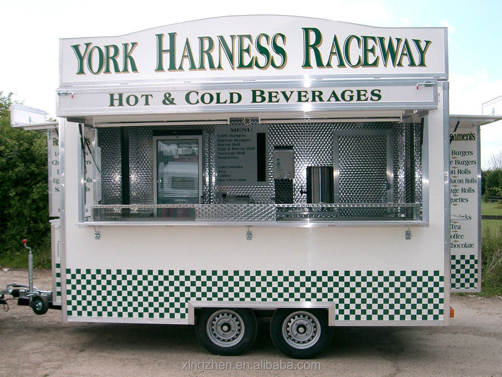 Top quality promotional mini MOBILE FOOD TRUCK View