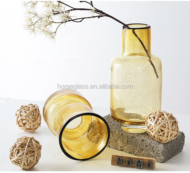 fabrication chinoise bol rond conception spéciale fleur rose vase