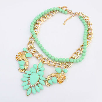 Jewelry Making Supplies Wholesale China Green Jade Bead Necklace