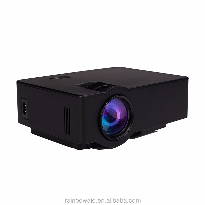 Support wifi use led projector better than uc 46 50 full for Micro movie projector