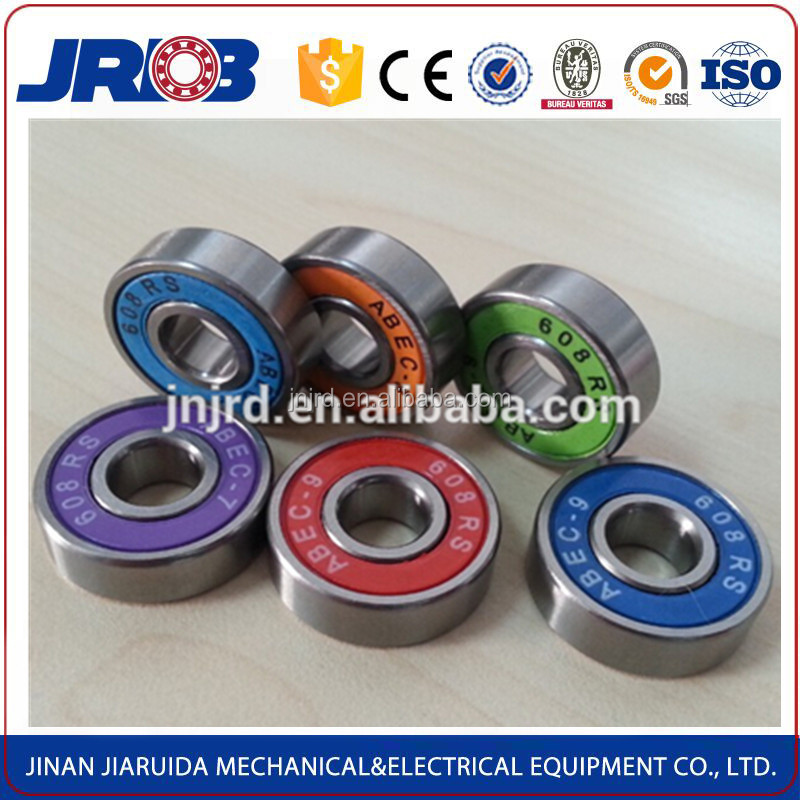 High quality long life high speed longboard bearing 608 ABEC 9 8*22*7mm