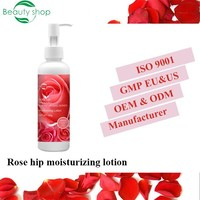 private label Rose hip origanic natural Moisturizing Face Lotion