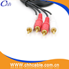 Factory Price 1.5M 3M 5M Input Output cctv camera rca extention cable for TV, DVD player and Set Top Box