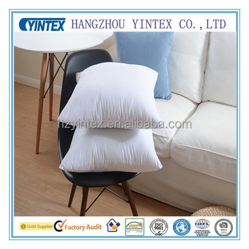 luxury microfiber cushion for home down feather sofa cushion covers