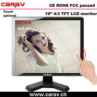19 inch Classical HD series cctv lcd monitor with feature-packed LCD combo devices