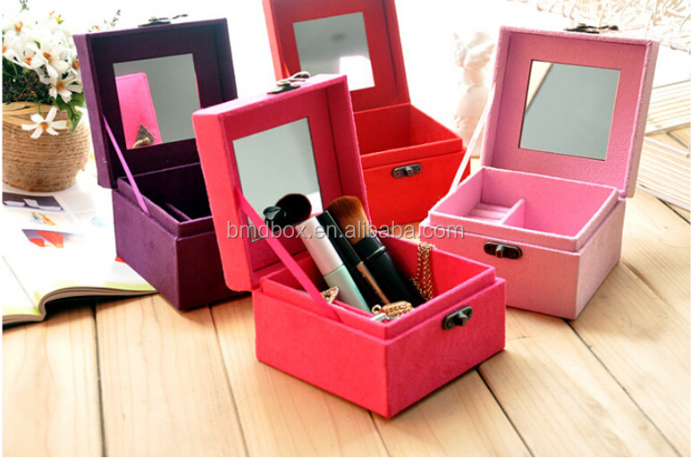 Cardboard Craft Boxes To Decorate Decoration Waste Material Art Small Velvet Jewelry Paper Box 58