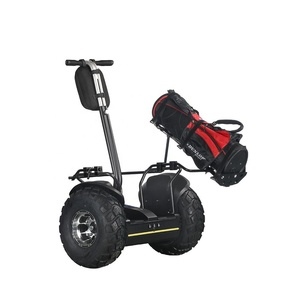 EcoRider Newest Stand up off road 2 wheel self balancing electric golf cart scooter for adults