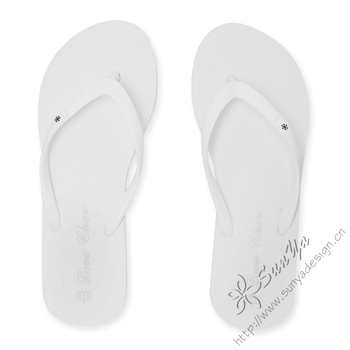 0bec535598d5 White Wedding Flip Flops - Buy High Quality Flip Flops