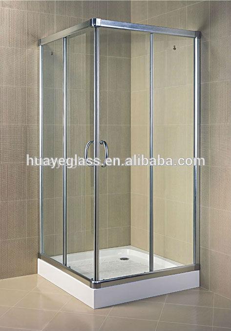 verre tremp 12mm prix pour salle de bain tremp porte en verre tremp ou porte de - Prix Pour Faire Une Salle De Bain