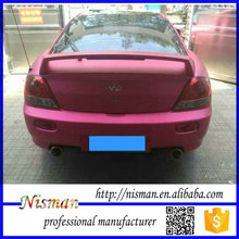 high quality low price removable matte rose red car vinyl wrap with Bubble Free channels