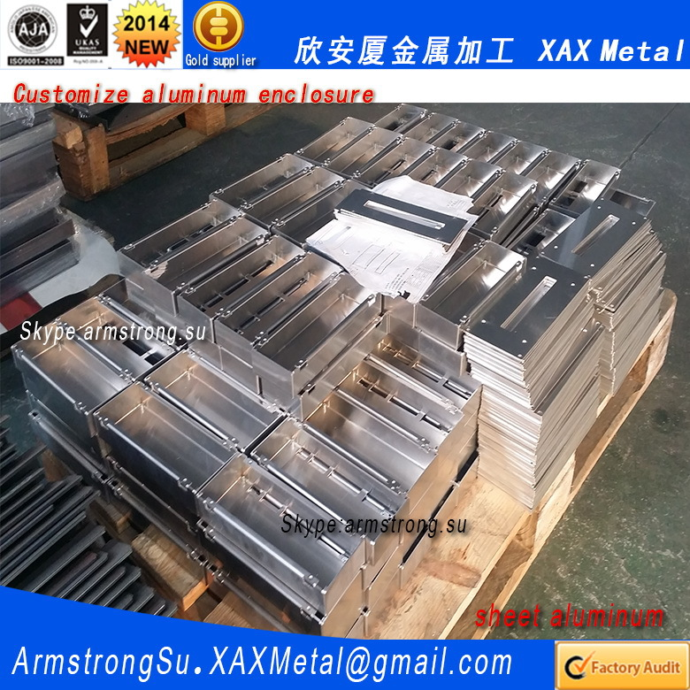 Xax536alu Oem Odm Customized Laser Cut Bend Weld Plate Aluminum ...