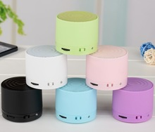 Candy Color Mini S10 Bluetooth Speaker