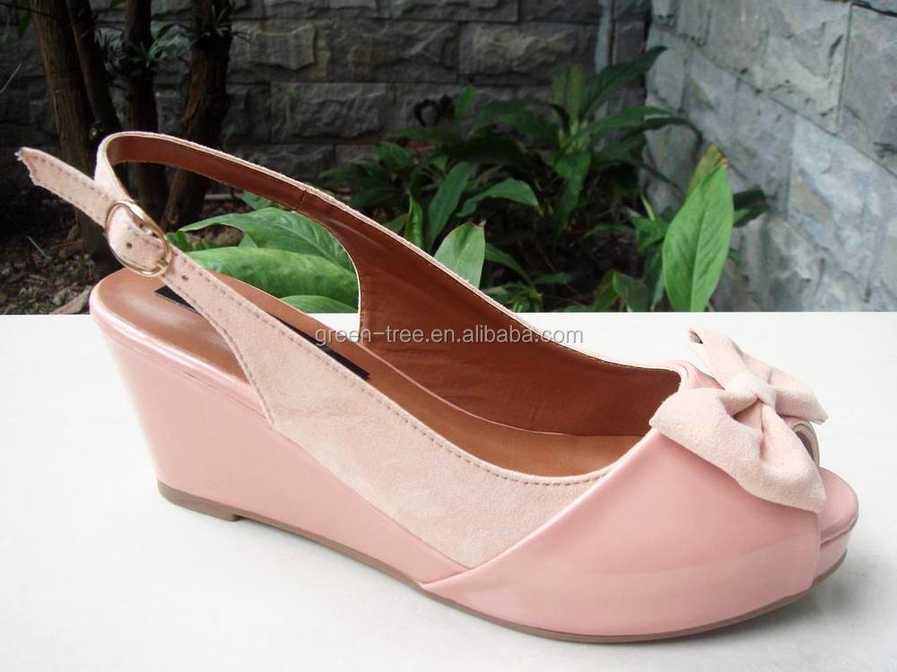 Fancy Pink Sandal New Model Girls Shoes Dress Sandal Shoe