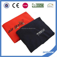 Hot Sales 100% Polyester Embroidery Fleece Blanket