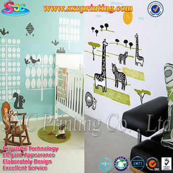 for quote bedroom anime design oil proof vinyl paper material kid