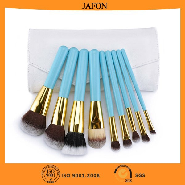 9pcs Personalized Makeup Brush Set