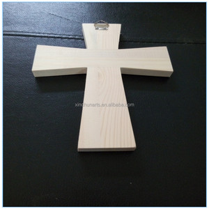 Unfinished Cheap Small Wooden Crosses Wholesale