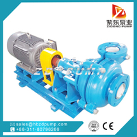 mineral process large capacity fly ash light duty slurrry pump