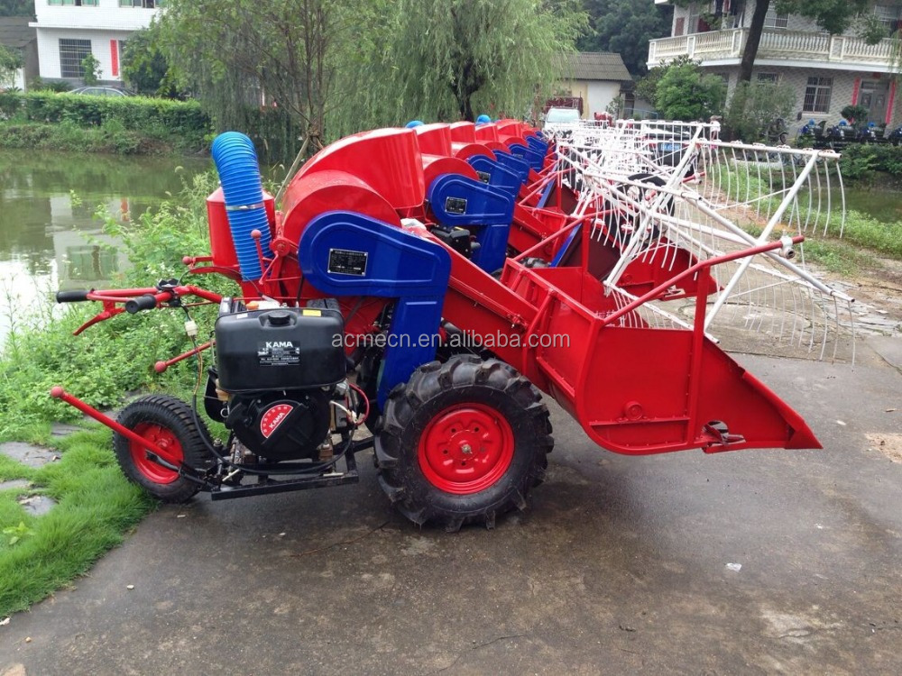 Hot sale mini rice combine harvester paddy light weight harvesting machine