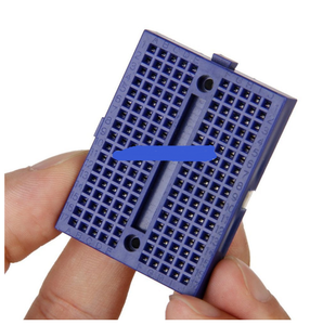 2017 Factory Outlet Blue 170 Tie-points Mini Breadboard Small Board PCB Circuit Panel with Connect for Uno R3