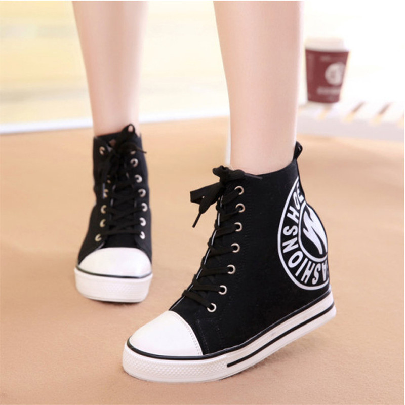 Korean Lace Up Winter Shoes Women