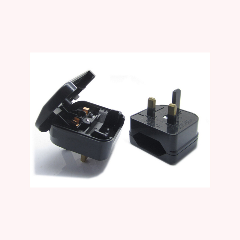 BS standard UK to Eu Euro European plug adapter converter
