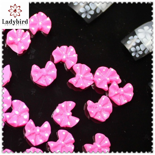 Latest Nail product,3D Nail Sticker,Fashion acrylic bow 3D Nail Art
