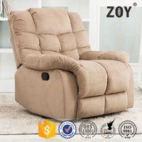 Arabic Lazy boy fabric single seat recliner sofa ZOY 9752A51