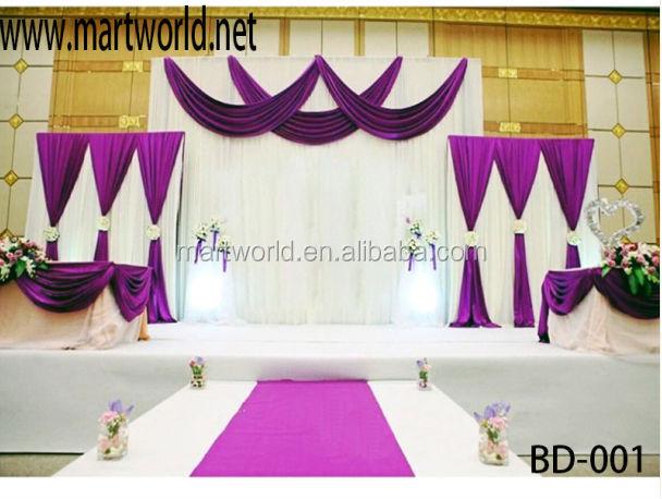 2017 Latest Wedding Drape D Fabric Used For Decoration Bd 001