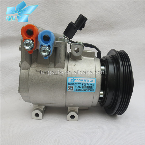 car aircon HS15 ac compressor for HYUNDAI Accent