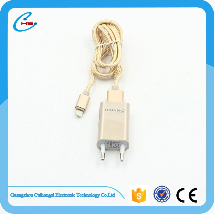 Factory supply good quality fashion 2 port phone charger