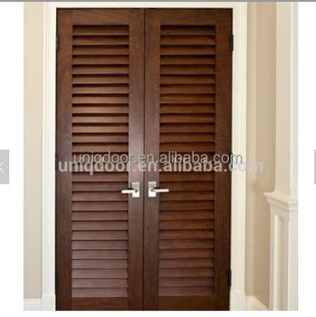 Solid Wood Louvered Doors Interior