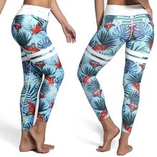 New arrival zumba pants sport wear floral printed fitness yoga clothes