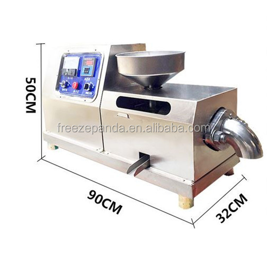 single phase oil press machine Oil Extraction Machine for peanut, soybean, tea seeds,avocado etc