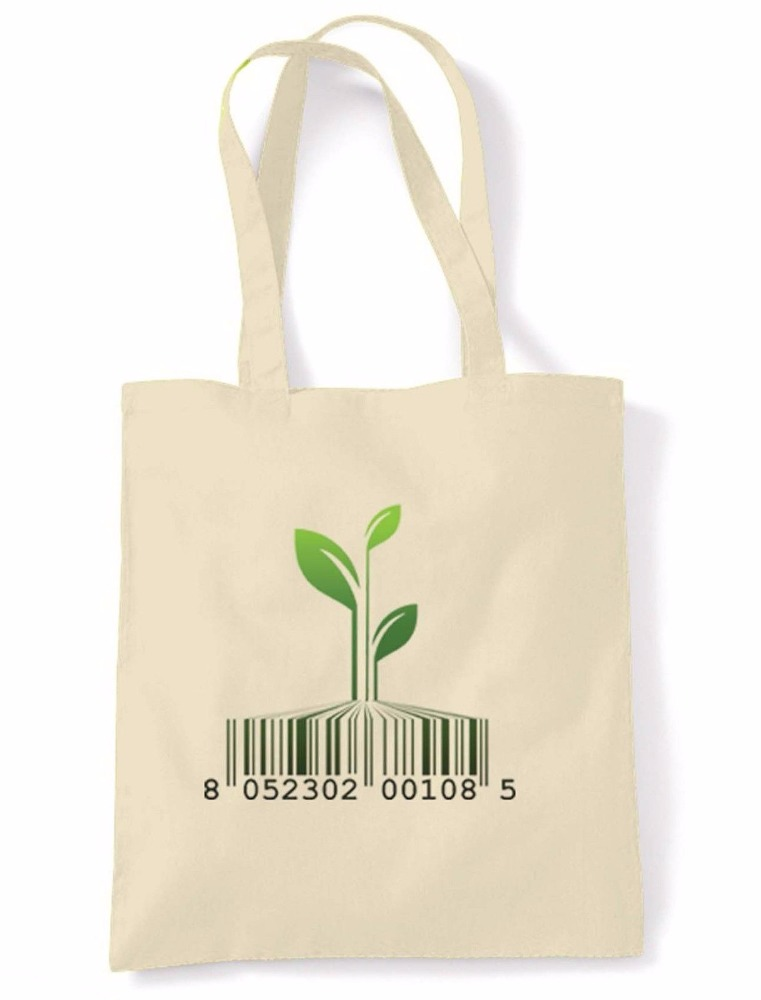 HighKing Green Earth Bags Natural Reusable Eco-Bags Products Recycled handbag tote bag gift