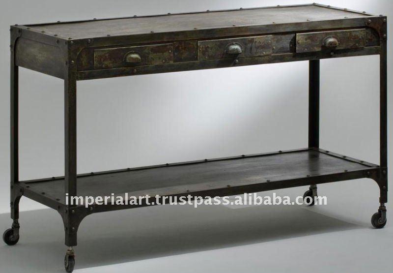 Industriale consolle altri mobili di metallo id prodotto for Mobilia domestica