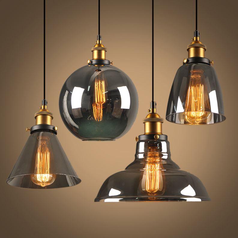 American country balcony lamp ceiling light LOFT industrial retro creative corridor lamp study aisle lamp pendant light