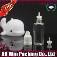 empty in stock 10ml pet plastic dropper bottle with childproof cap on sale