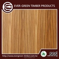 stable quality zebrawood wood wall panel interior furniture grade
