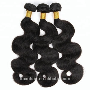 cheap grade 9a cuticle aligned hair body wave virgin brazilian hair extension china hair manufacturer
