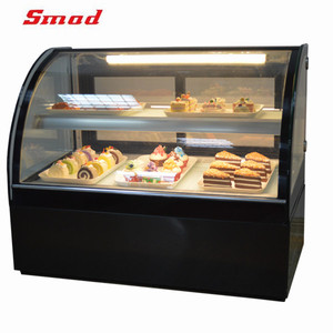 Hot Sale Supermarket Table Top Cake Display Refrigerator Freezer