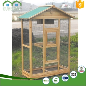Large Wooden Bird House Chinese Bird Cage Custom Birdie Nest