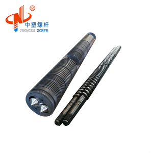 Parallel Twin Screw and Barrel for fish feed Granules Extruder Machine