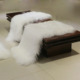 promotion product new design warm soft mongolian lamb wool fur blanket