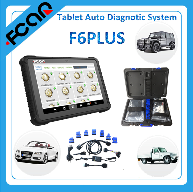 car diagnostic tool F6 PLUS auto diagnostic system support all cars all over the world