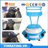 2016Newest High Quality Vibrating Vr 9D Cinema 5D Cinema Roller Coaster and Car racing 9dvr