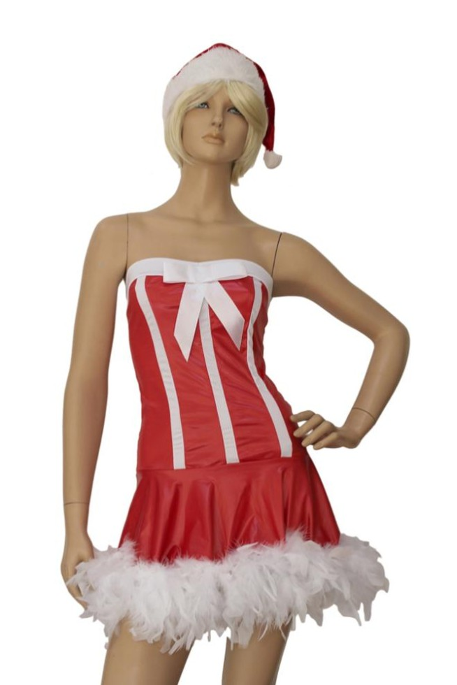 get quotations santa claus costume sexy christmas costumes wholesalesanta cutie lingerie costume lc7104 cheap price drop