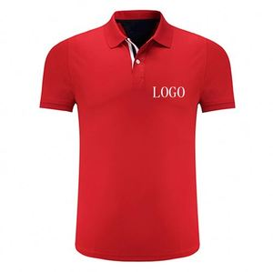 New Pattern Eco-Friendly Digital Print 20 Polyester 80 Cotton Polo T Shirts With Custom Logo