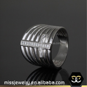 Micro paved cubic zircon 925 italian silver ring women, ally express cheap wholesale ring