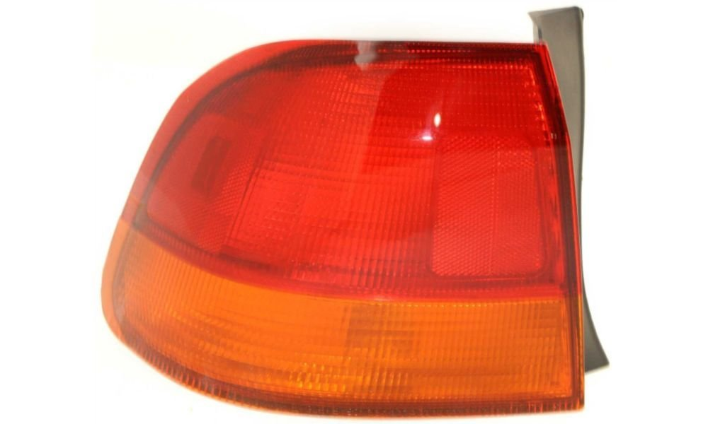 Evan-Fischer EVA15672012524 Tail Light for Honda Civic 96-98 LH Outer Lens and Housing Sedan Left Side Replaces Partslink# HO2800117